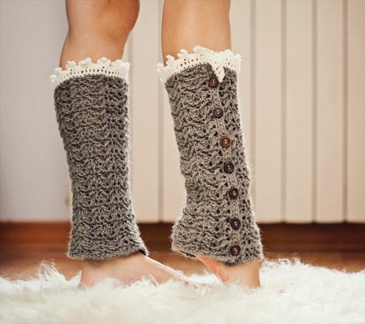 Crochet Leg Warmers Easy Filocat