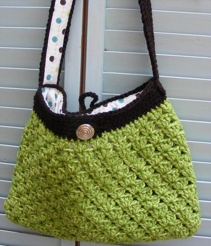 Purses and Free Crochet Bag
