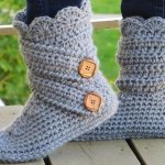 30 Easy Fast Crochet Slippers Pattern