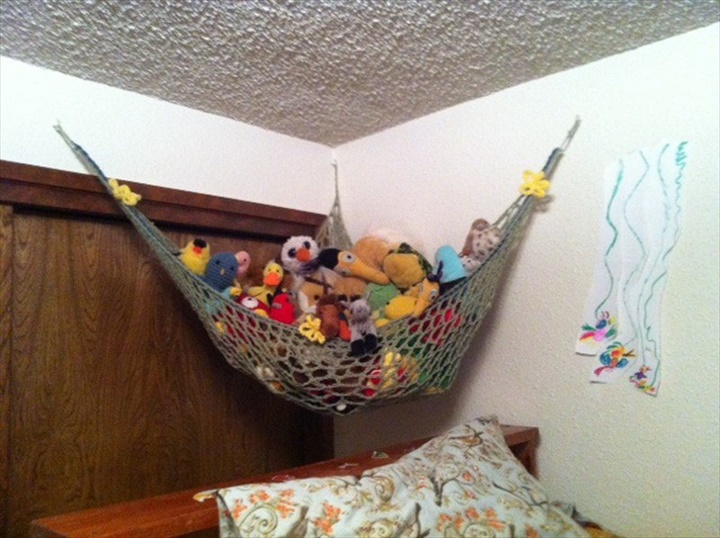 diy crochet toyr hammock