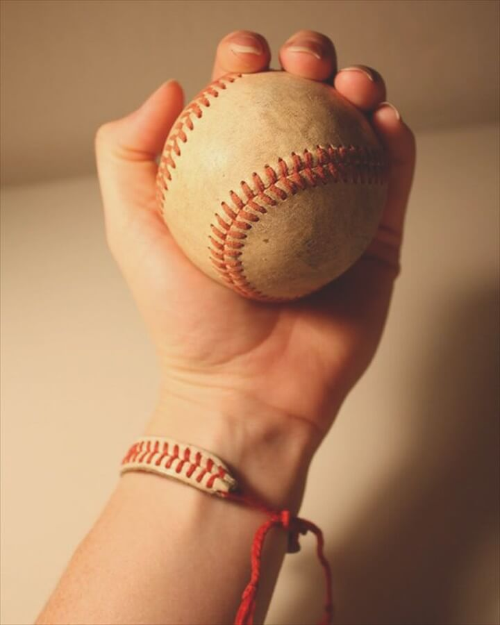 DIY Play Ball Bracelet