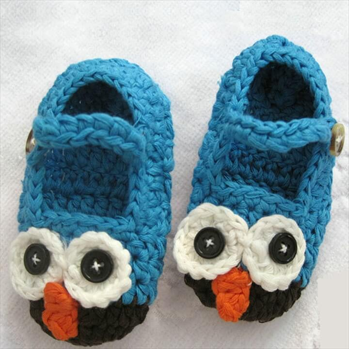 Crochet Animal Slippers Slippers Baby Crochet