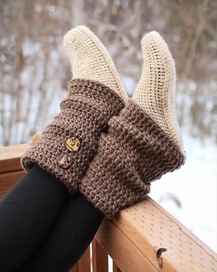 Crochet Audrey Boots Paid Pattern