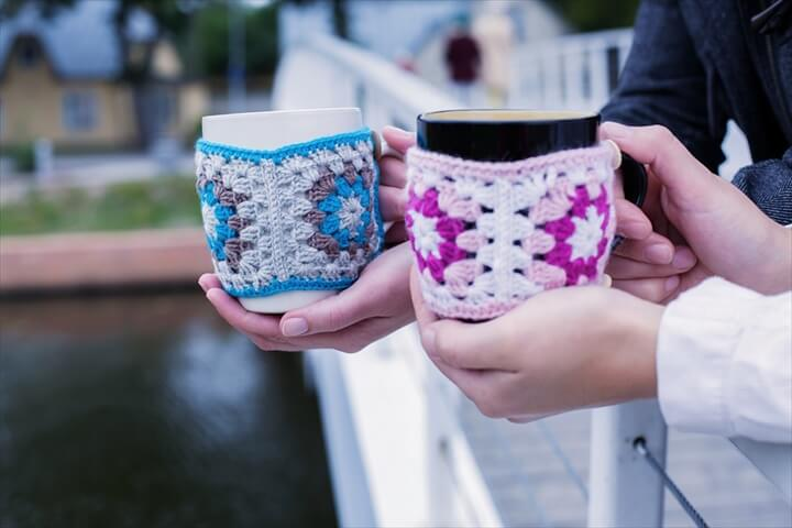Coffee mug cozies Coffee mug cozies