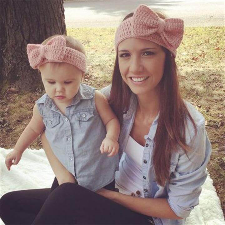 25 Diy Kids Headband For Warmer Winter Days