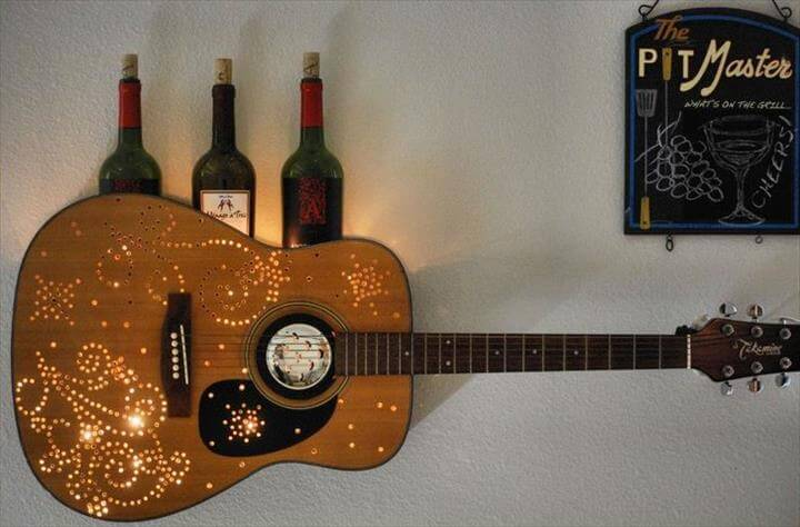 15 diy old guitar ideas