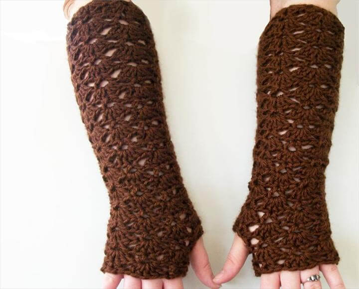 Lace Gloves Pattern