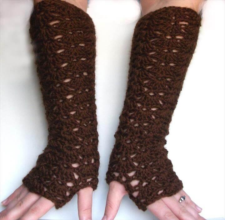 Opera Length Fingerless Gloves Elbow Length Long Lace Gloves