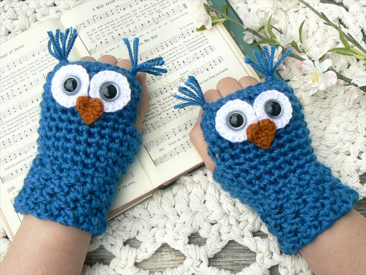 48 Marvelous Crochet Fingerless Gloves Pattern Diy To Make