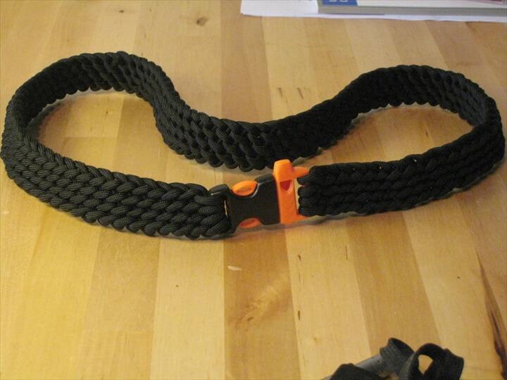 Paracord Belt Weave