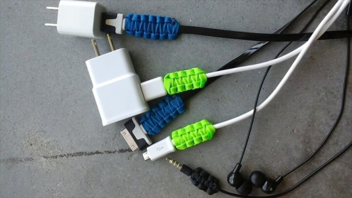Paracord Charging Cable Joints Reinforcement