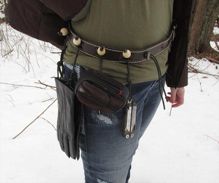 Easy Woven Paracord Survival Belt