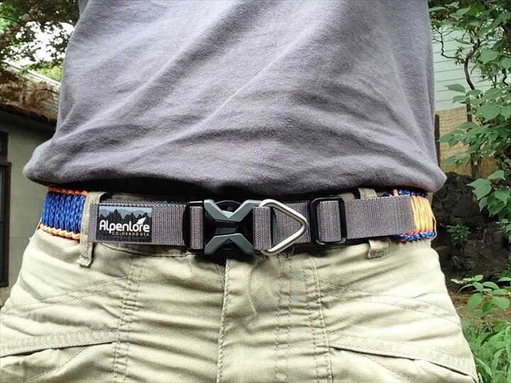 Paracord Hiking Belt