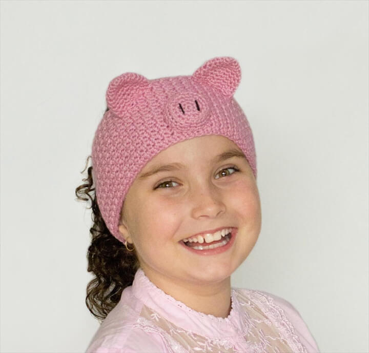 Pretty Pig Crochet Headband