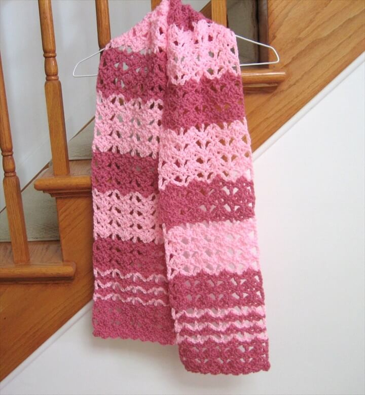27 Quick Amp Easy Crochet Scarf Diy To Make