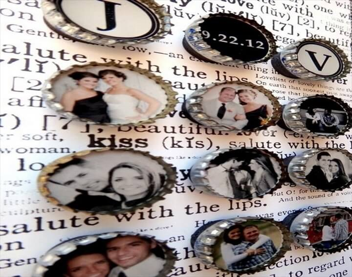 Recycled Bottle Caps Picture Frame Ideas .