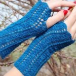 20 Easy Crochet Fingerless Gloves Pattern