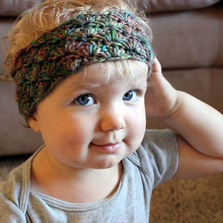 Simple Shells Toddler Headband