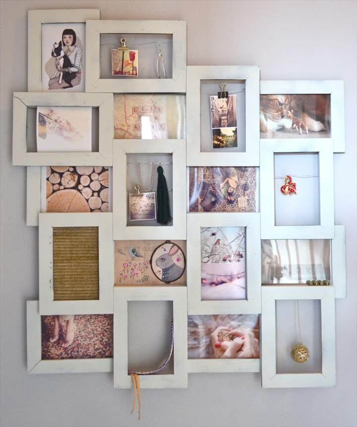 32 Easy Amp Best Diy Picture Frame Crafts Diy To Make