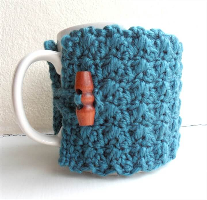 31 Diy Easy To Make Crochet Mug Warmer Ideas Diy To Make