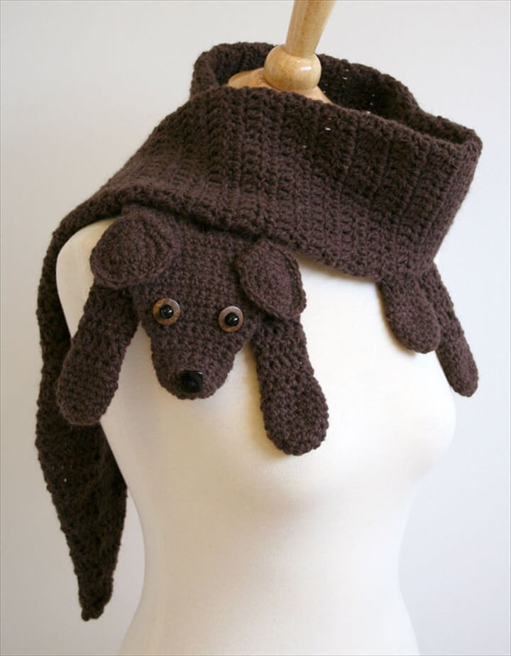 Crochet Dog Scarf Pattern Free