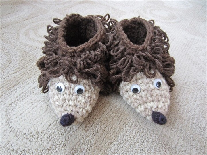 Animal Slipper crochet patterns