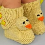 15 Easy To Make Crochet Baby Animals Slippers