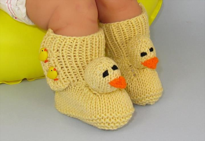 Babies Knitted Shoes Free Patterns