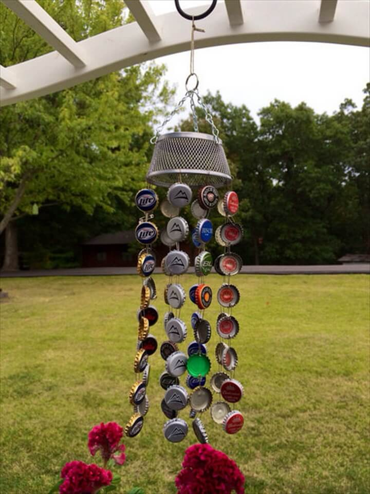 37 diy ways to recycle bottle caps diy to make for Cool beer cap ideas