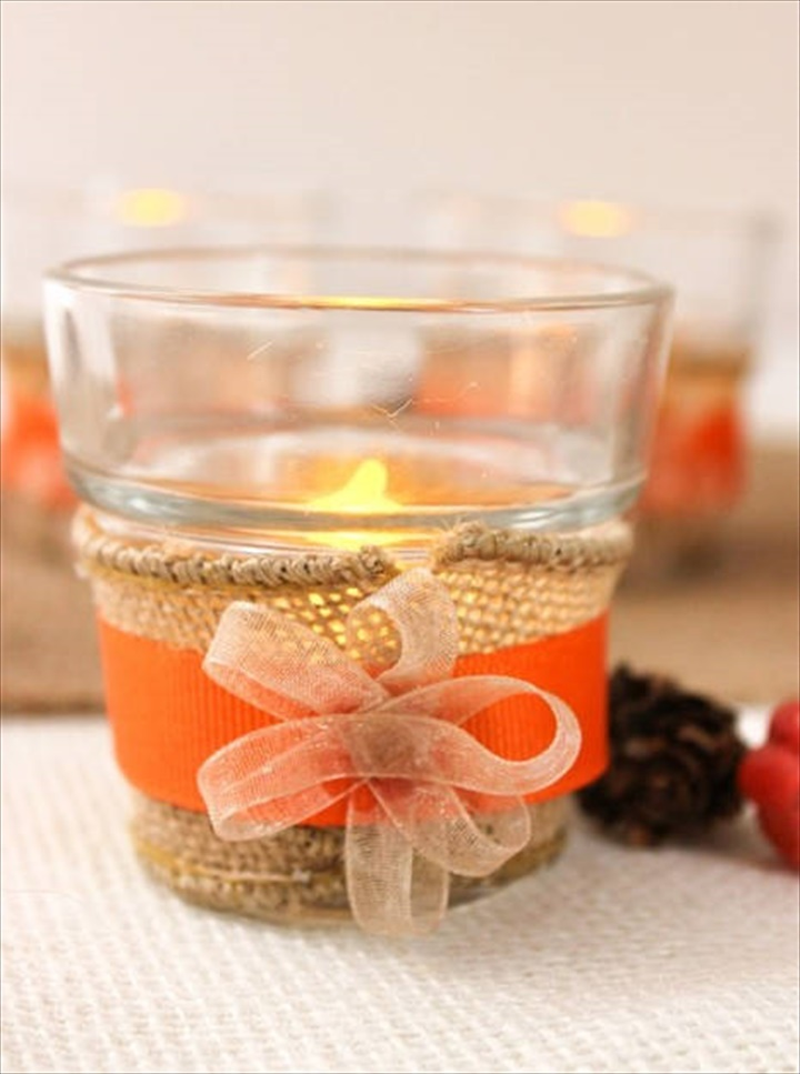 Simple Tea Lights for the Table