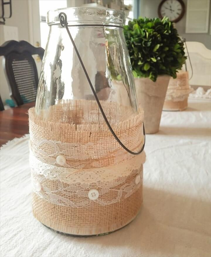 burlap-wrapped-jars