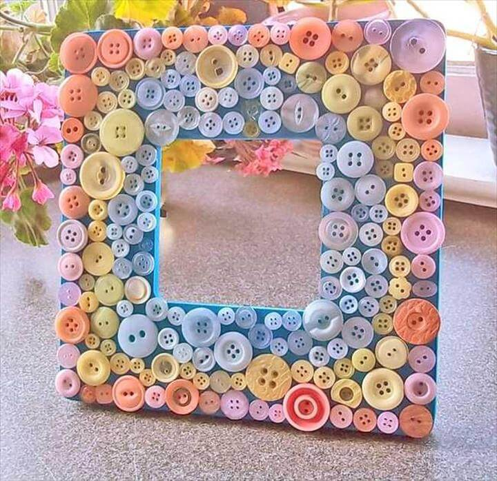 36 Innovative Amp Beautiful Button Crafts Diy To Make