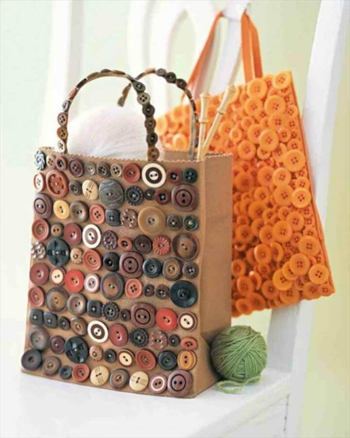 Button Handbag