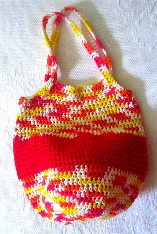 free crochet tote pattern