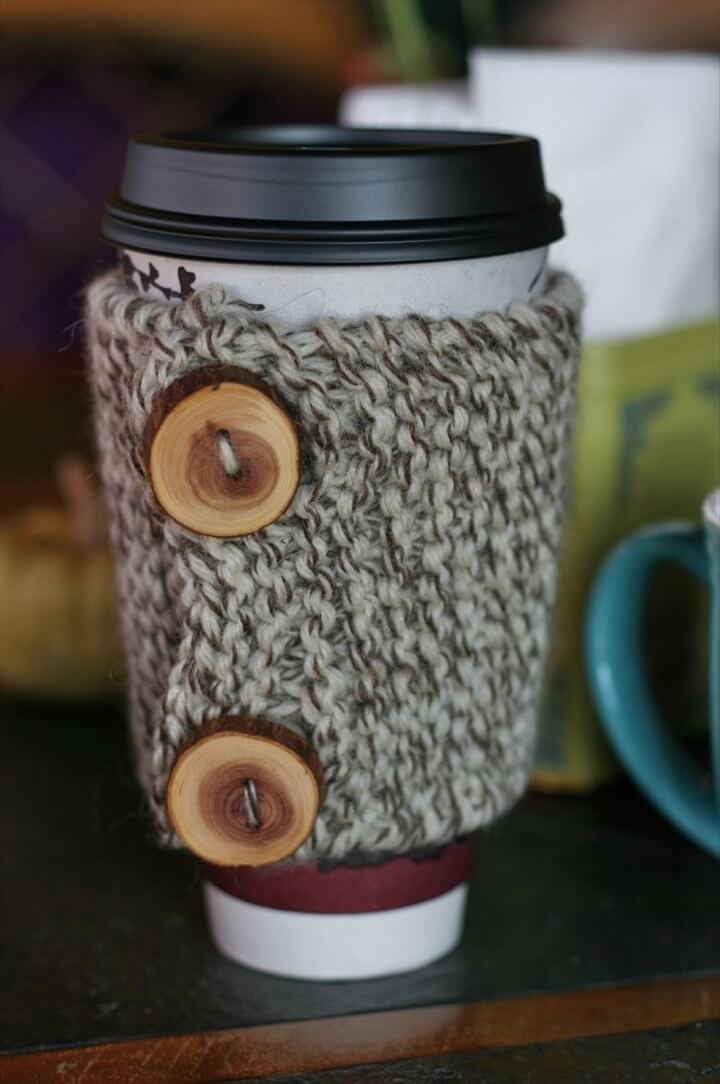 DIY Coffee Cup Cozy Tutorials And Patterns