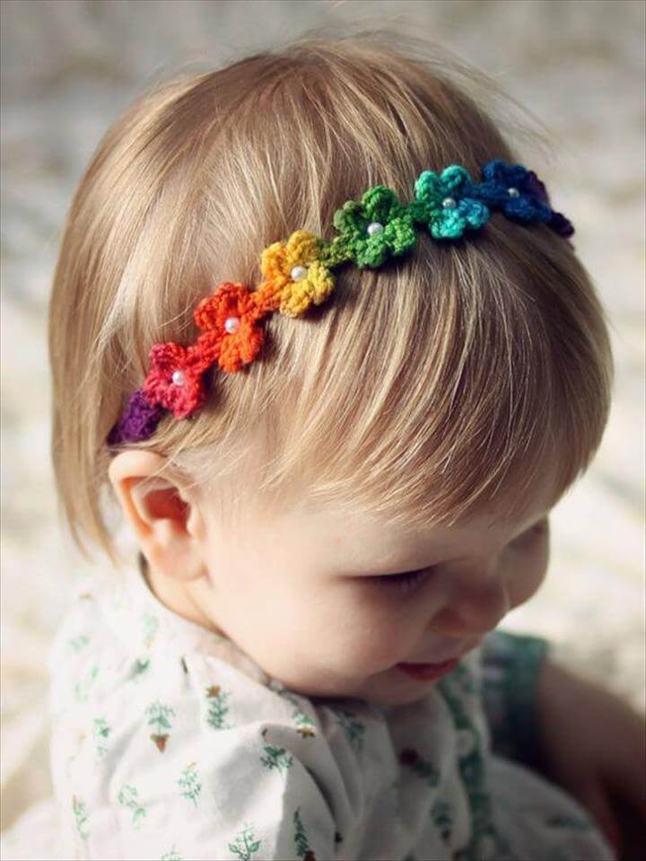 25 Diy Kid S Headband For Warmer Winter Days Diy To Make