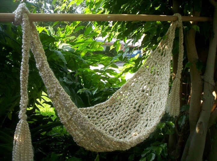 PATTERN Crocheted Baby Hammock