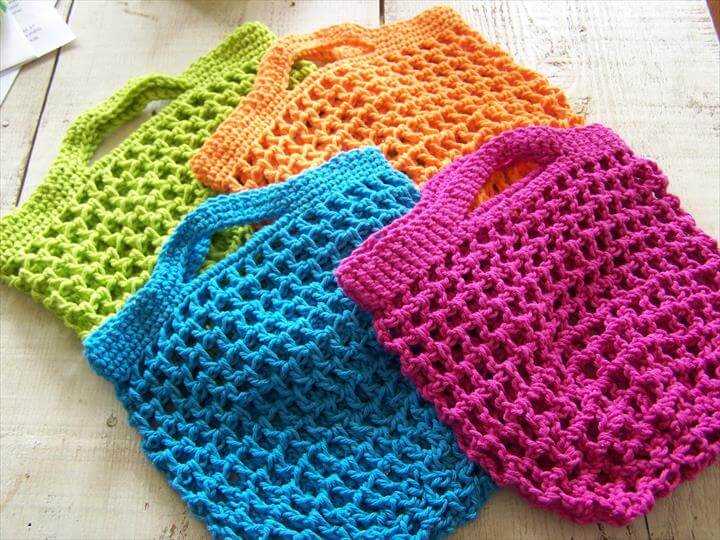 Grocery Shopping Bag Pattern, handmade crochet,Crocheted Bags and Purses