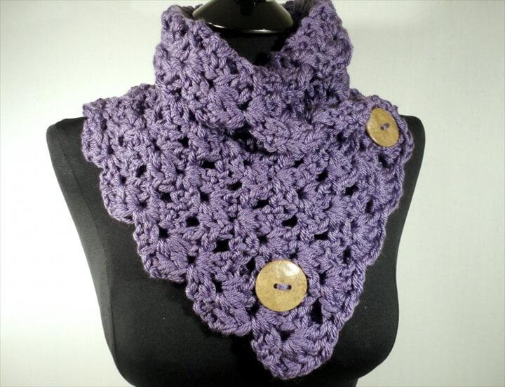 Crochet Scarf Pattern,