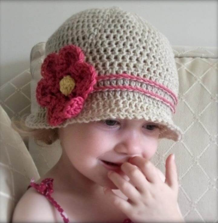 45 Super Diy Crochet Brimmed Beanie Hat Design Diy To Make