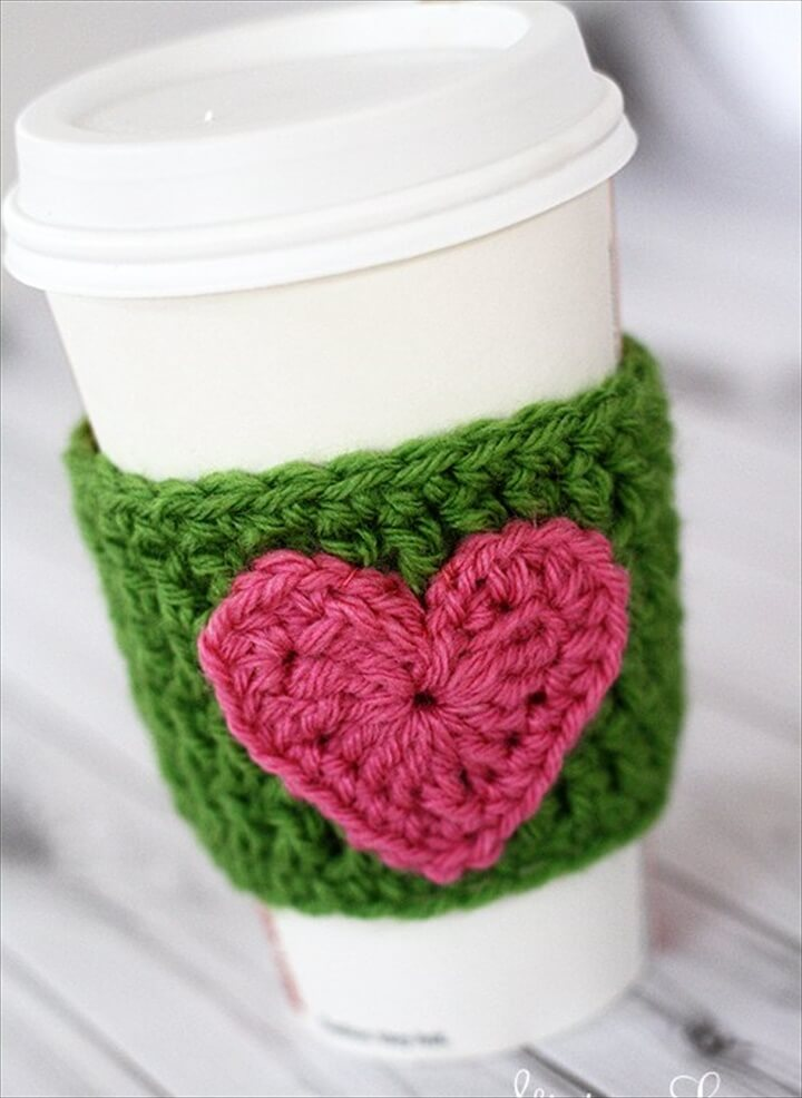 20 Cool Crochet Coffee Cozy Ideas Tutorials Diy To Make