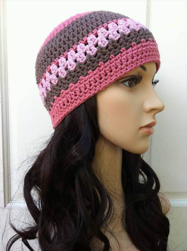Crochet Beanie and Beanie Pattern