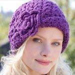 26 DIY Crochet Brimmed Beanie Hats