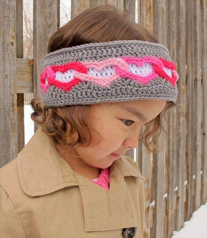 Heart Warmer, heart headband