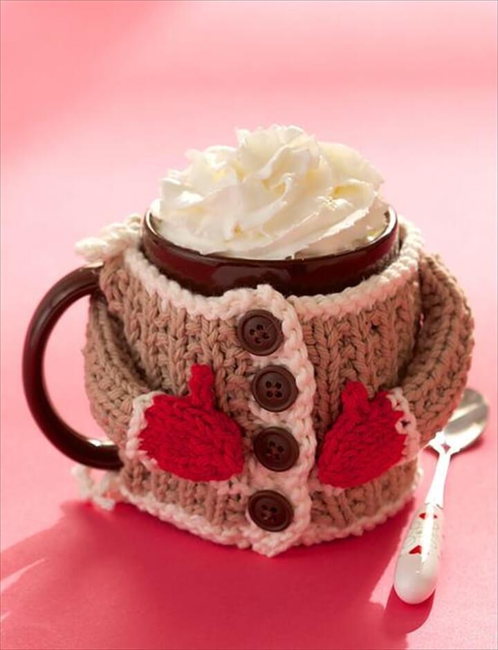 Hug Me Mug Cozy