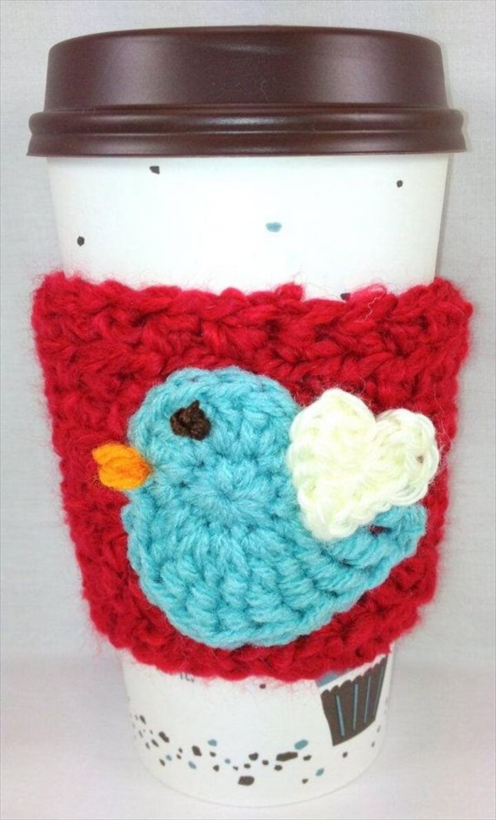 Cool Crochet Coffee Cozy Ideas & Tutorials