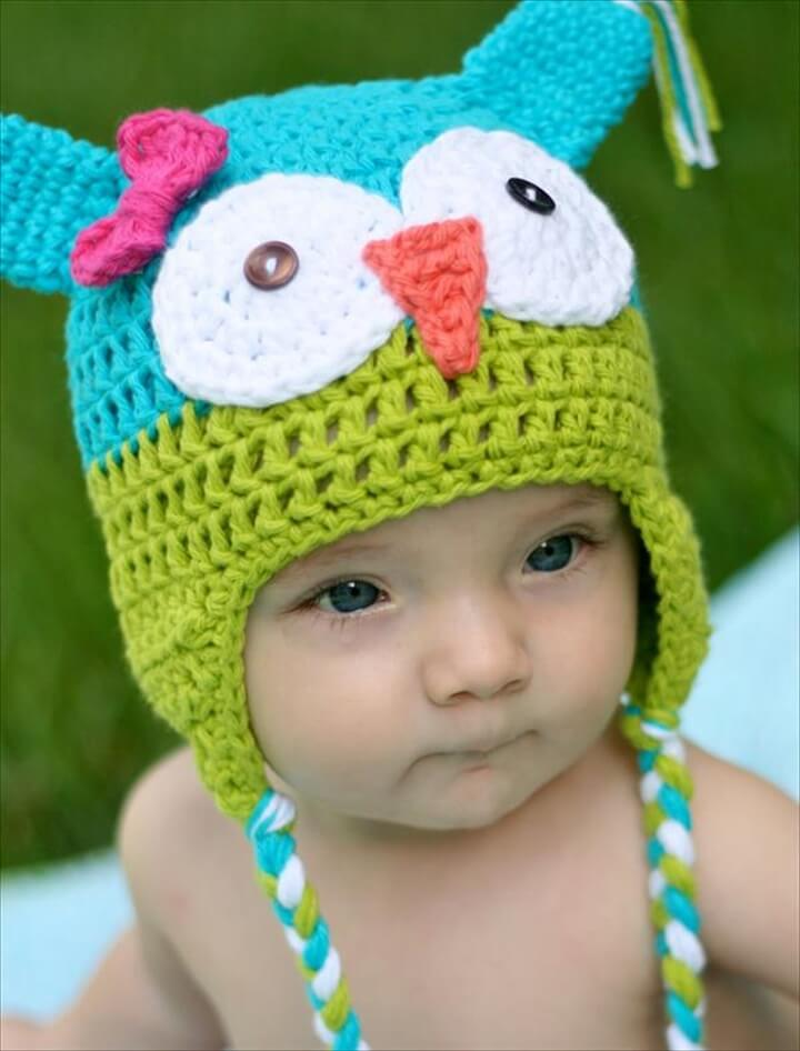 DIY Crochet Owl Hat Pattern for Kids