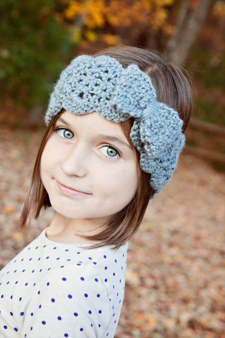Crochet Bow Headband Pattern, Bow Turban Headband, Crochet Pattern, Turban Headband