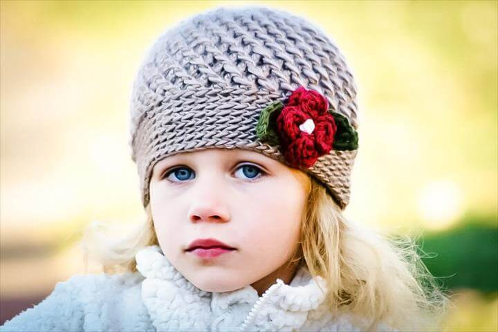 Winter Blossom Hat