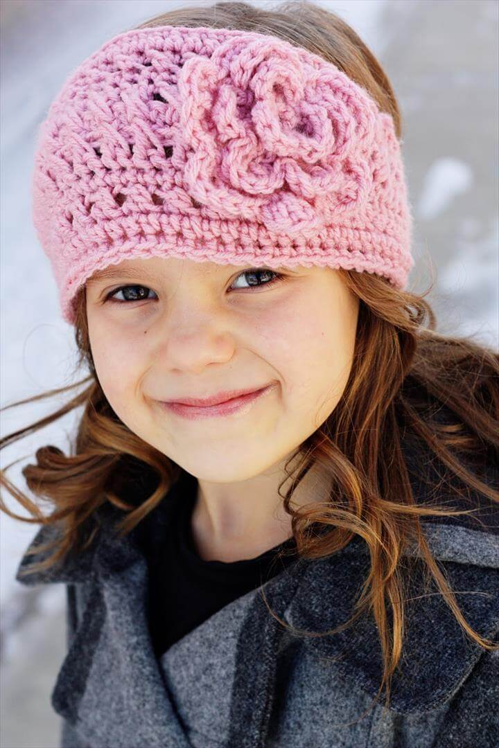 25 DIY Kid's Headband For Warmer Winter Days